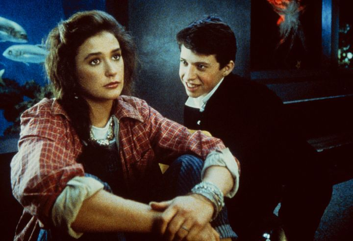 """Demi Moore and Jon Cryer in """"No Small Affair."""""""