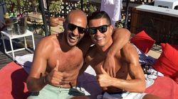 Cristiano Ronaldo fait la fête avec Badr Hari à