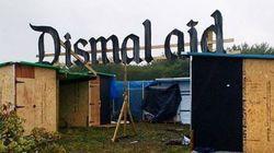 Banksy construit ses premiers abris dans la