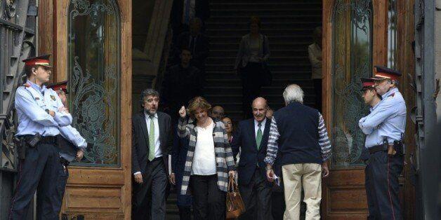 En Catalogne, des indépendantistes devant la