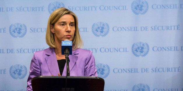 Federica Mogherini, High Representative of the Union for Foreign Affairs and Security Policy and Vice-President...