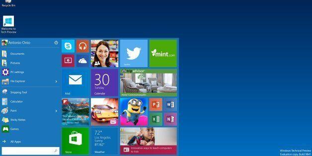 Sellal interdit l'installation de Windows 10 sur les machines des administrations