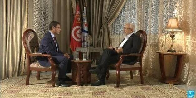 Rached Ghannouchi sur le plateau de France