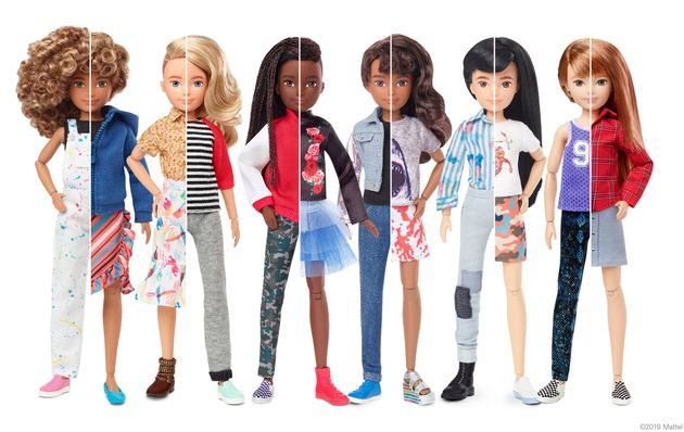 Mattel, Inc.'s new doll can be a boy, girl, neither, or