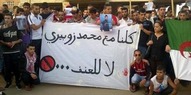 Une marche en solidarité avec Mohamed Zoubiri, un lycéen assassiné à Alger la veille de