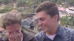 Il demande son amie en mariage... sur des montagnes