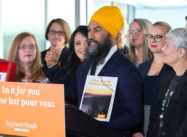 NDP Leader Jagmeet Singh announces plans to deal with the crisis around the price of housing as makes...