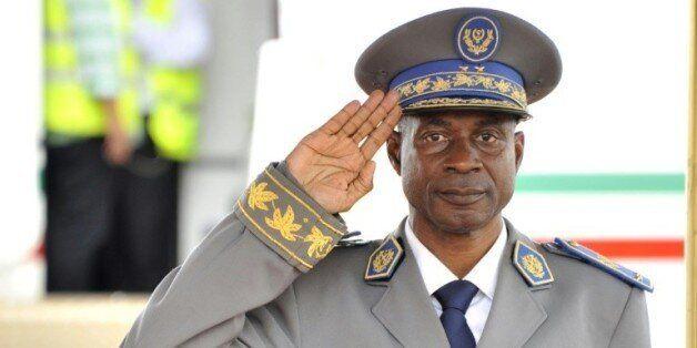 Le Général Gilbert Diendéré, le 18 septembre 2015 à Ouagadougou © AFP AHMED