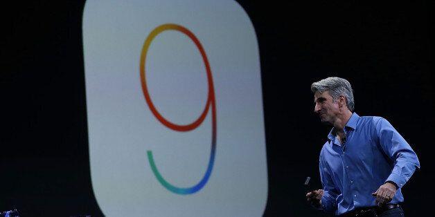 SAN FRANCISCO, CA - JUNE 08: Craig Federighi, Apple senior vice president of Software Engineering, speaks...