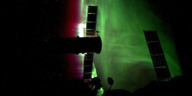 PHOTOS. Une aurore boréale photographiée depuis
