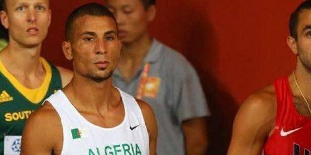 Athlétisme: Taoufik Makhloufi au départ du 800 mètres au Meeting de
