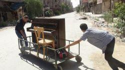 Musicien célèbre, il s'est réfugié en Europe lorsque des jihadistes ont brûlé son