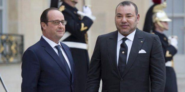 François Hollande en visite à Tanger le 19 et 20
