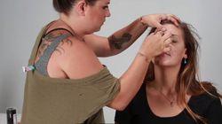 Cette maquilleuse fait la démonstration des méfaits de 20 ans de tabac sur la peau