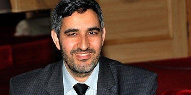 Portrait de Abdelaziz El Omari, ministre chargé des Relations avec le parlement et la société civile...