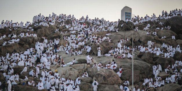 Les pèlerins ont afflué vers le mont