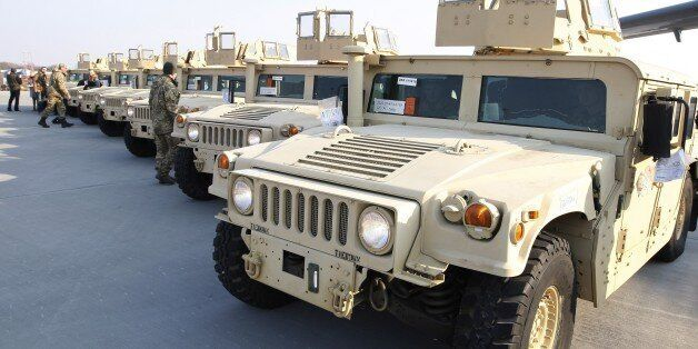 The latest in unarmored Humvees--nicknamed the