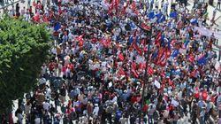 Les Tunisiens bravent l'état d'urgence et manifestent contre la réconciliation