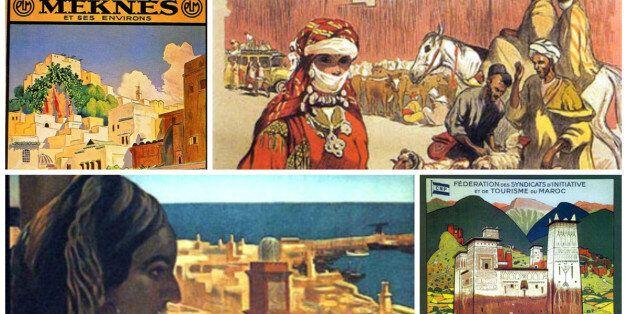 Le Maroc d'antan au travers des affiches peintes du XXème