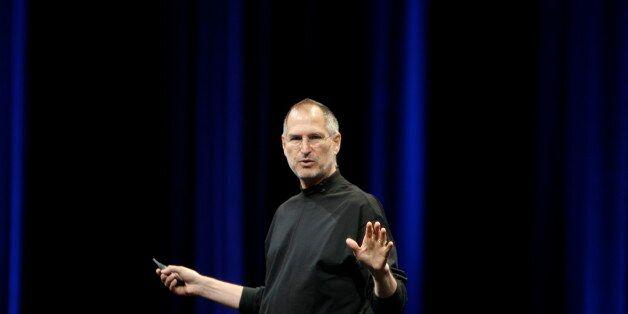 Steve Jobs, preparing to say