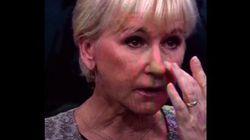Une ministre suédoise pleure à la télé la mort du petit Aylan