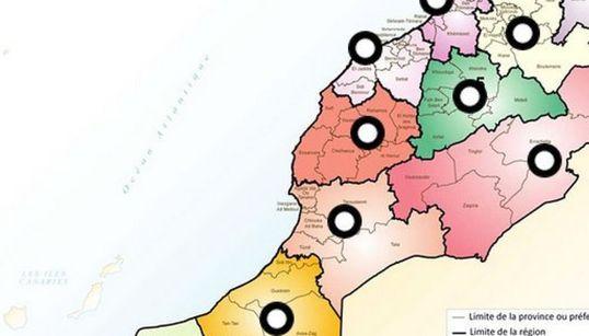 Conseils régionaux: Qui siège où? (CARTE