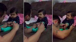 Couper les ongles de ce bébé a viré au fou