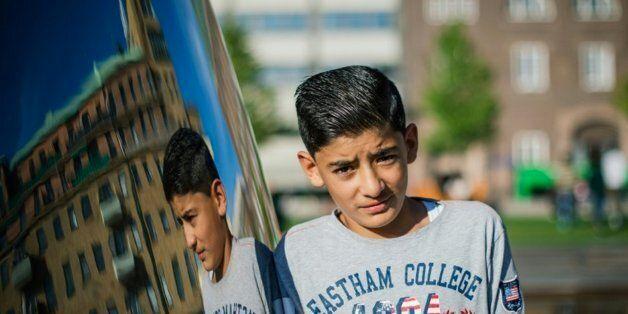 Mahmud, 13 ans, l'un des milliers de mineurs non accompagnés en