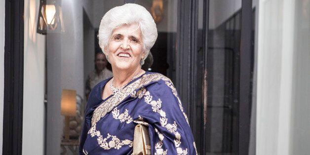 Padou Baharani, l'une des dernières représentantes de la communauté indienne en