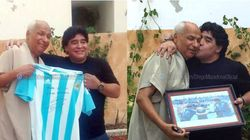 Maradona rencontre l'arbitre tunisien qui a validé