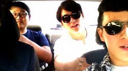 Des étudiants sud-coréens se filment en train de chanter