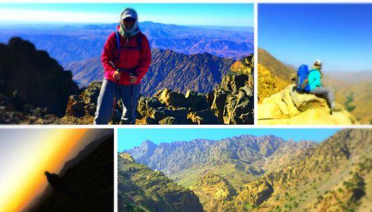 Du Mont Toubkal à Agadir à pieds: L'exploit d'une Écossaise et d'un