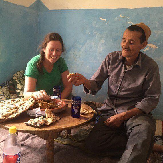 Une Écossaise et un Marocain concluent un trek de l'extrême au