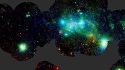 Voici le centre de notre galaxie (et son énorme trou