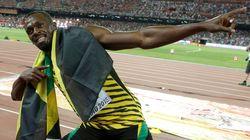 Usain Bolt Champion du monde sur 100