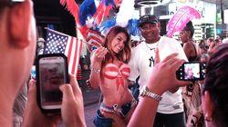 Times Square : Bataille pour les seins