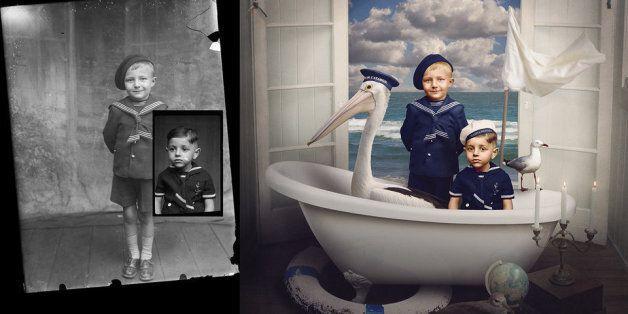 Ces photographies de Première Guerre mondiale ont été totalement réinventées par une