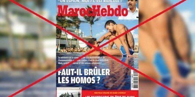 Une association porte plainte contre la une homophobe