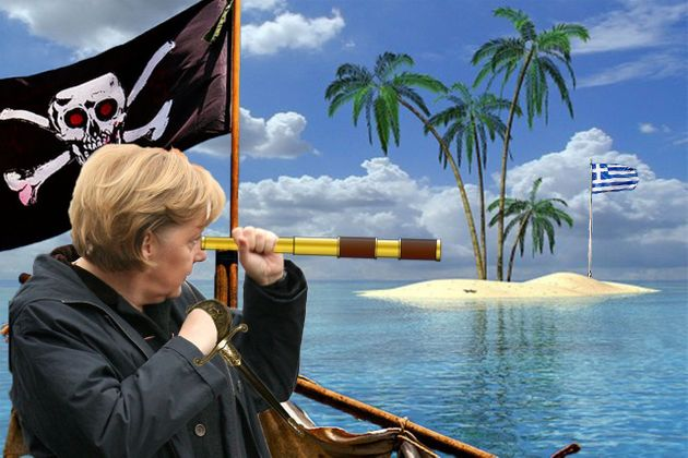 Cette photo d'Angela Merkel vaut le