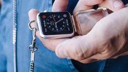 Une Apple Watch gousset ou pendentif pour les