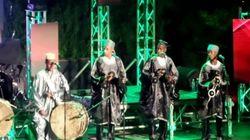 Kader Japoni, Houari Dauphin et Cheb Khalas à l'ouverture du 8e festival de Raï à Sidi