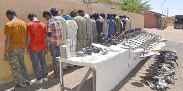 Plus de 100 contrebandiers arrêtés dans plusieurs régions frontalières du