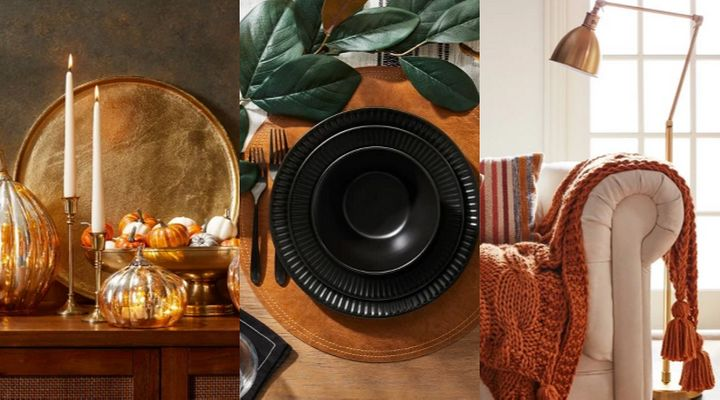 Target's 2019 fall home collection can help make your house super cozy.