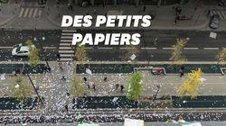Voici pourquoi une pluie de prospectus a envahi l'avenue de France à