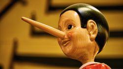 Las mentiras de los niños son engañosamente