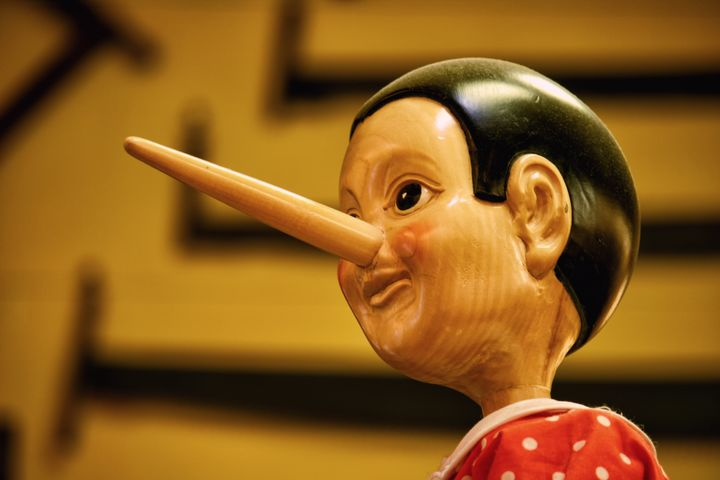 Un muñeco de Pinocho.