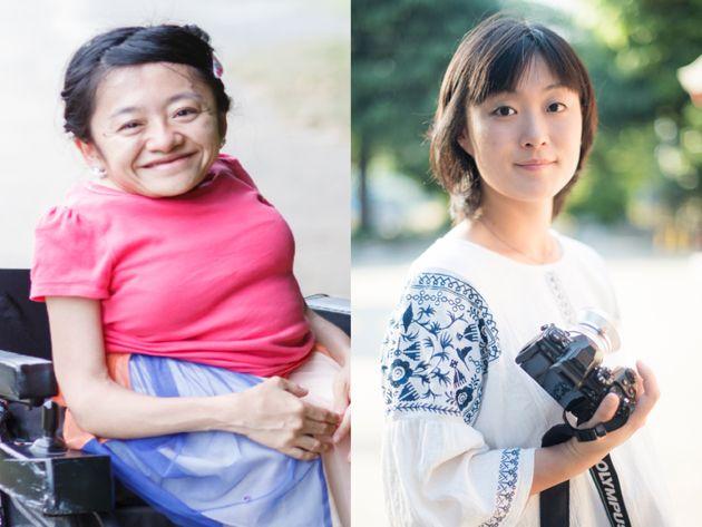伊是名夏子さん(左)・安田菜津紀さん(右)