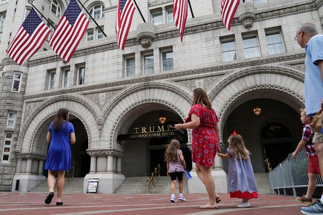 Trump International Hotel in Washington has an unfair advantage in attracting foreign visitors in town...