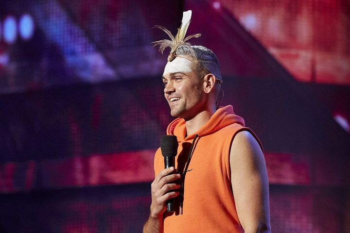 Indigenous artist and Australia's Got Talent finalist Mitch Tambo.