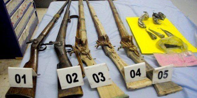 Armes artisanales saisies à Ghardaïa où deux personnes ont été